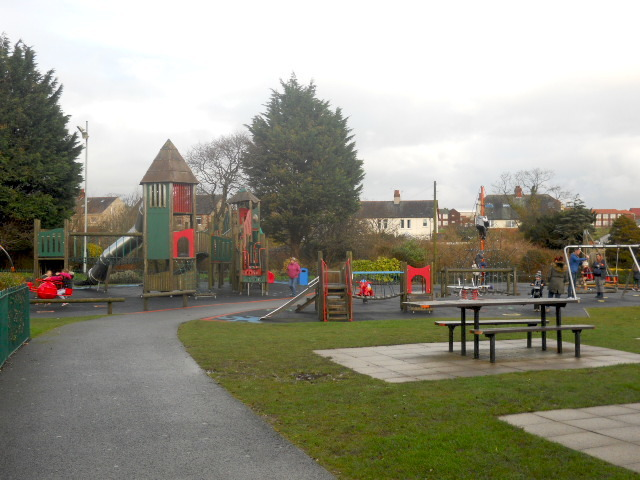barrow in furness, park, playground