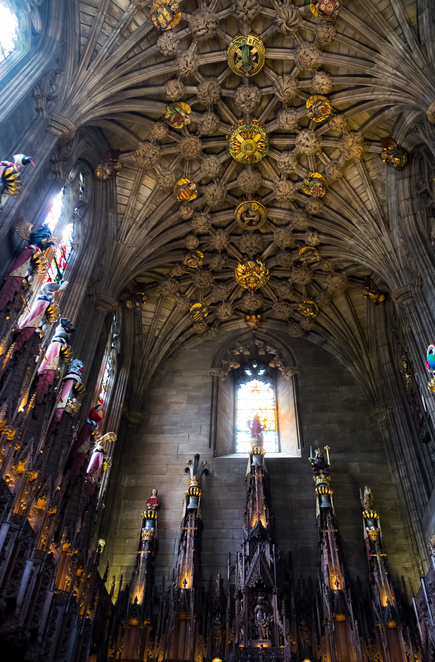 cathedral edinburgh scotland history heritage free day trip out culture architecture local