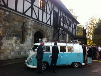 Hospitium, VW camper van, wedding