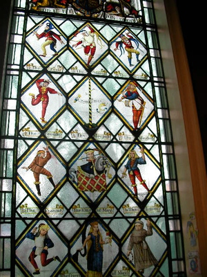 kingston museum, stained glass windows