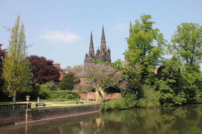Lichfield Cathedral, Minster Pool