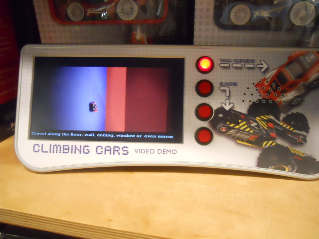 menkind, westfiled, shepherd's bush, remote control car, wall climbing car
