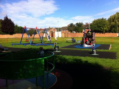 Playpark, Kidlington, pirate sheep