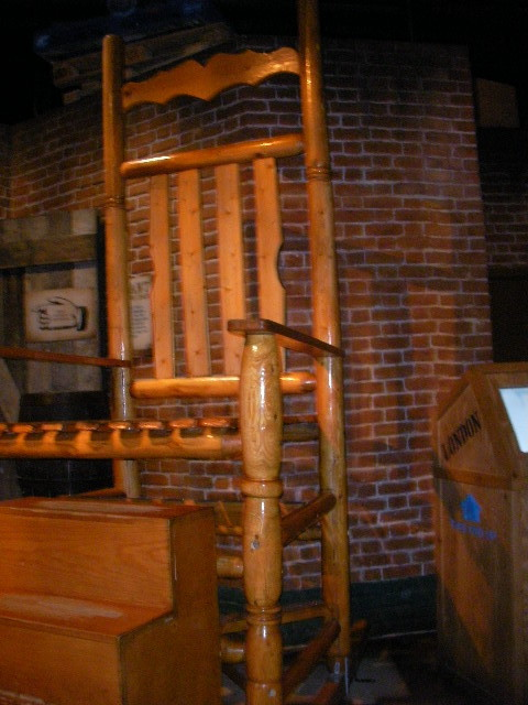 ripley's believe it or not museum, rocking chair