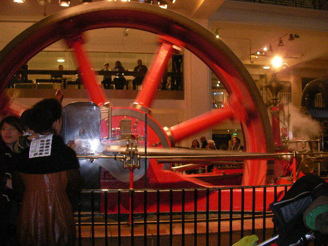 science museum, steam power