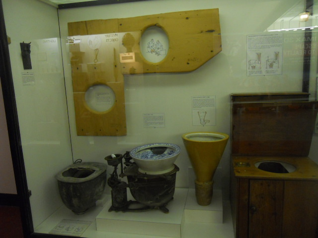 science museum, toilet, wc