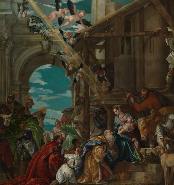 The Adoration of Kings, Paolo Veronese, 1573, national gallery, magnificence in renaissance venice