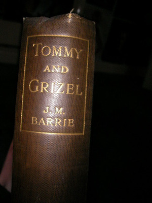 tommy and grizel, j.m. barrie