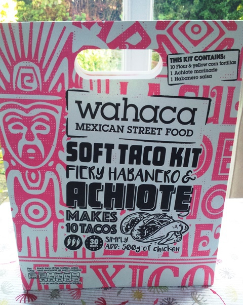 wahaca soft taco kit, recipes thomasina miers, Alison Brinkworth