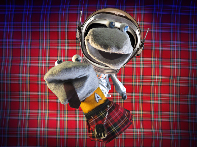 Birmingham Comedy Festival Scottish Falsetto Sock Puppet Theatre