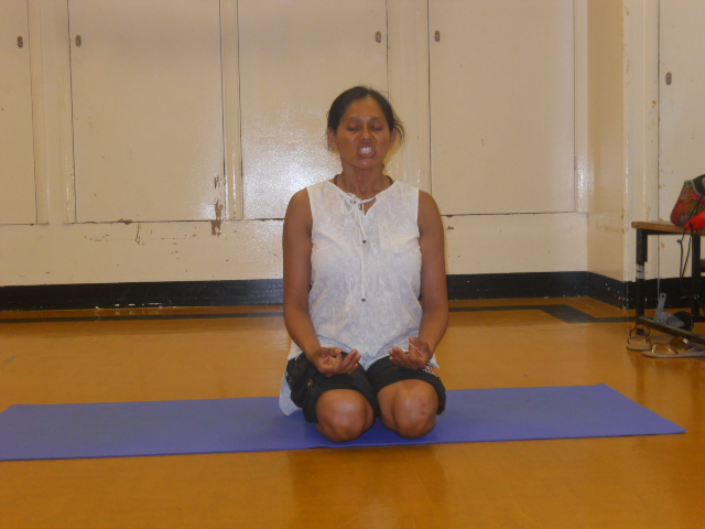 south Mitcham Community Centre, yoga classes, main hall