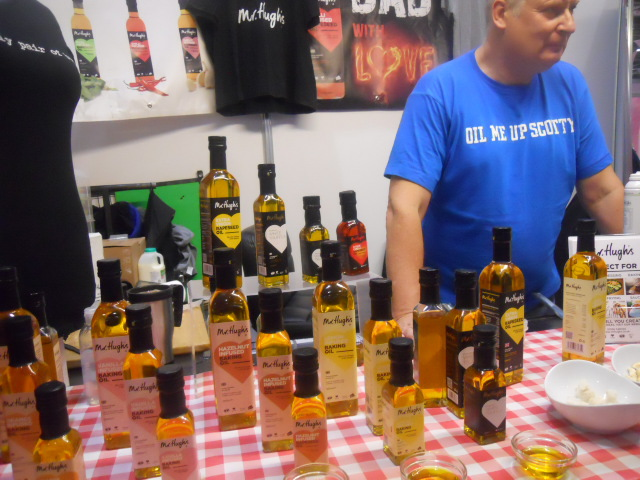 cake and bake show, , mr highs, rapeseed oil
