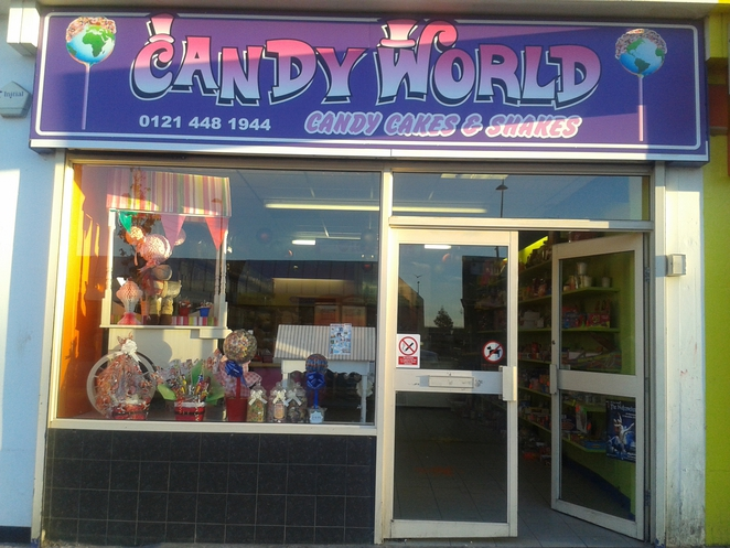 Candy World, sweets