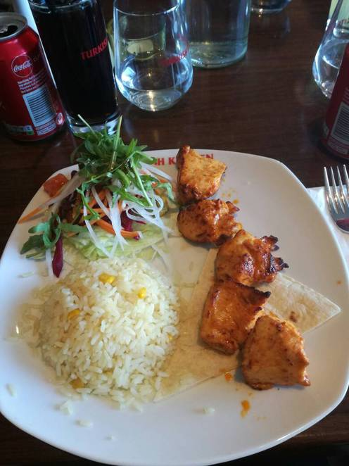 chicken shish, shish, kebab, lunch, lunch menu, chicken, casserole, chicken casserole, turkish, turkey, turkish kitchen, hatfield