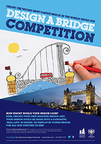 design a bridge, competition, tower of london