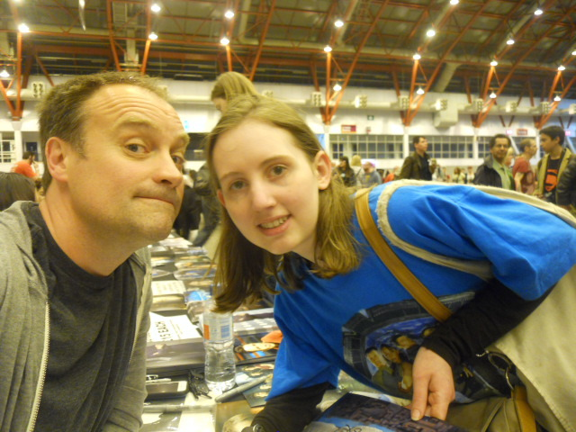 london film and comic convention, game of thrones, david hewlitt, bryony harrison