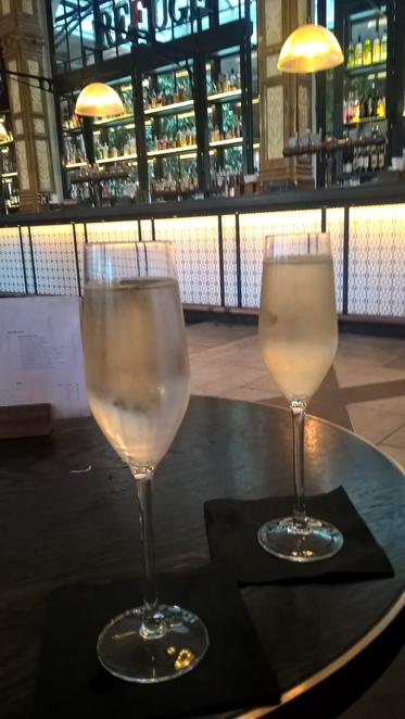 Refuge, Manchester, bars, prosecco, celebration, public bar, Oxford Road