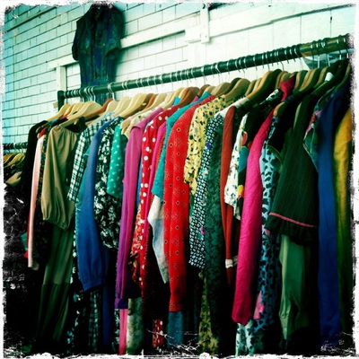 Vintage Clothes, Kilo Sale, market