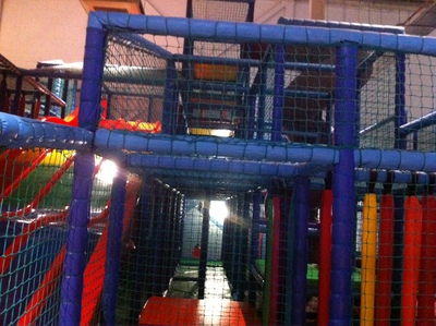 adventure frame, climbing frame, i kidz, soft play, activity centre, oxford