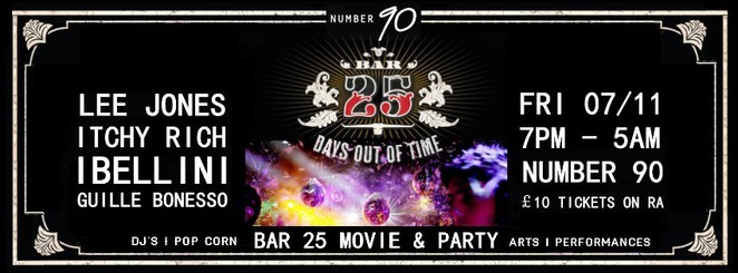 bar 90, bar 25 movie & party