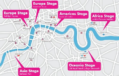 BT River of Music Map (Picture Courtesy of the Website)