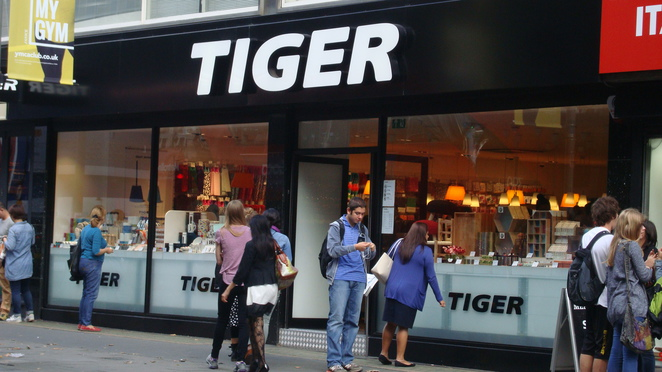 London stores,London shops,Tiger
