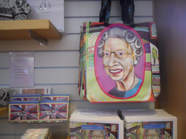 national Portrait Gallery, queen, gift shop