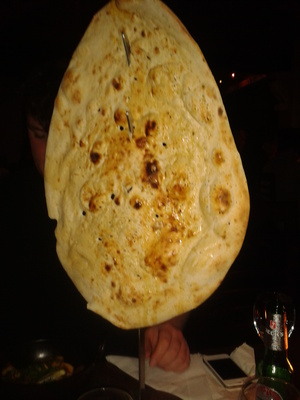 Largest naan ever!