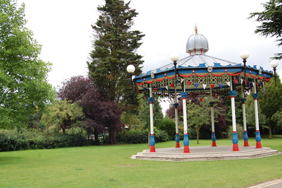 Prittlewell priory park band stand