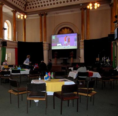 sport cafe olympics all souls church