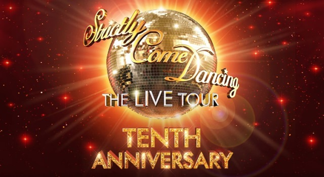 strictly come dancing the live tour 2017 January, Birmingham Barclaycard arena