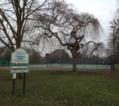 Tennis Courts, Lammas Park