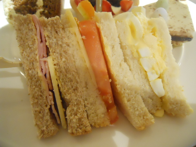 elys, cafe, afternoon tea, finger sandwiches