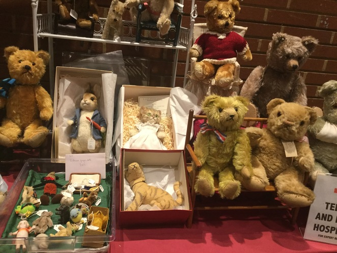 hugglets, teddies, winter fest, Beatrix potter, Peter rabbit, tigger