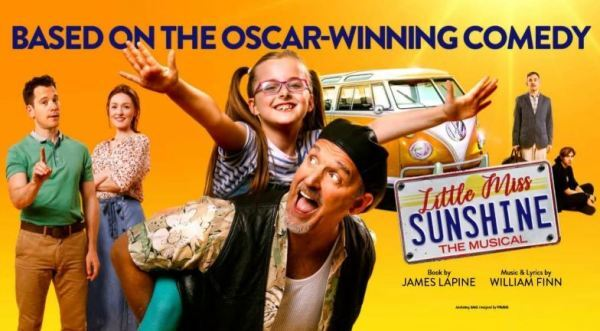 Little Miss Sunshine Musical, Review, Alexandra Theatre Birmingham, Mark Moraghan, Lucy O'Byrne, Lily Mae Denman, Gabriel Vick, Paul Keating, Sev Keoshgerian