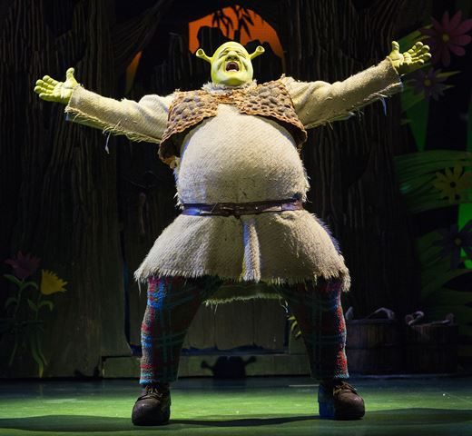 Shrek, uk theatre tour, Birmingham new alexandra Theatre
