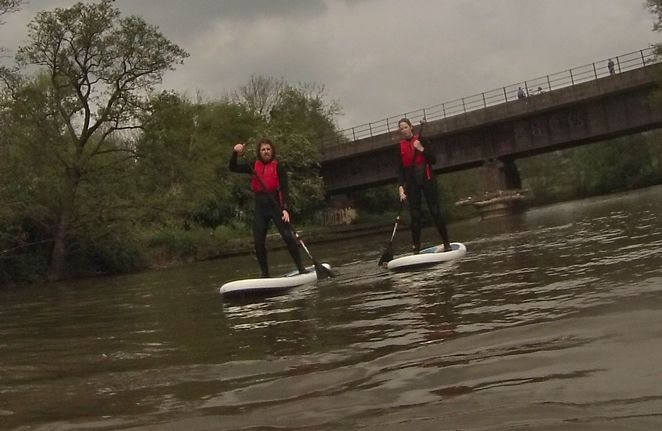 Stand Up Paddling, River Avon