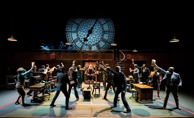 This House, National Theatre, UK Tour, Birmingham Rep, Malvern Theatres, Photo credit Johan Persson