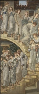 Burne Jones : The Golden Stairs