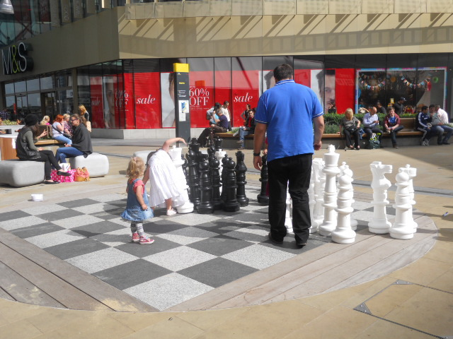 westfield, stratford city, chestnut plaza, giant chess, chess, stratford city