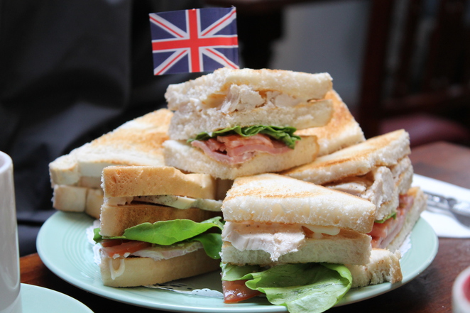 churchill club sandwich fourteas war tearoom cuppa lunch