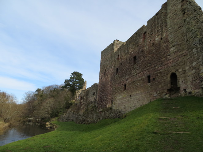hailes castle, river tyne, edinburgh