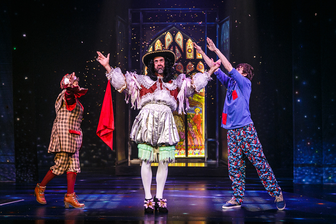 horrible histories, horrible christmas, terry deary, birmingham stage company, old rep, birmingham