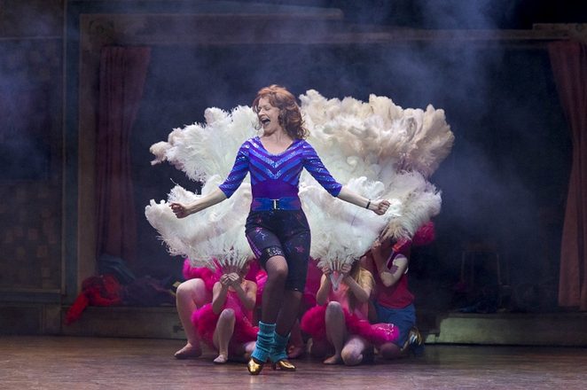 Annette as Mrs Wilkinson in Billy Elliot the Musical