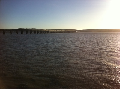 Bridgeview Station Restaurant, River Tay, Tay Road Bridge, Dundee, view, restaurant with view