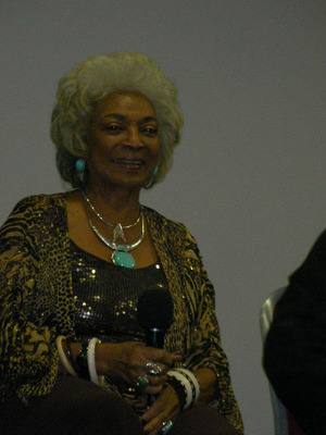 collectormania, convention, nichelle nichols