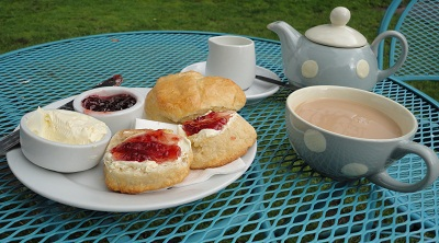 Cream Tea at Daisy's