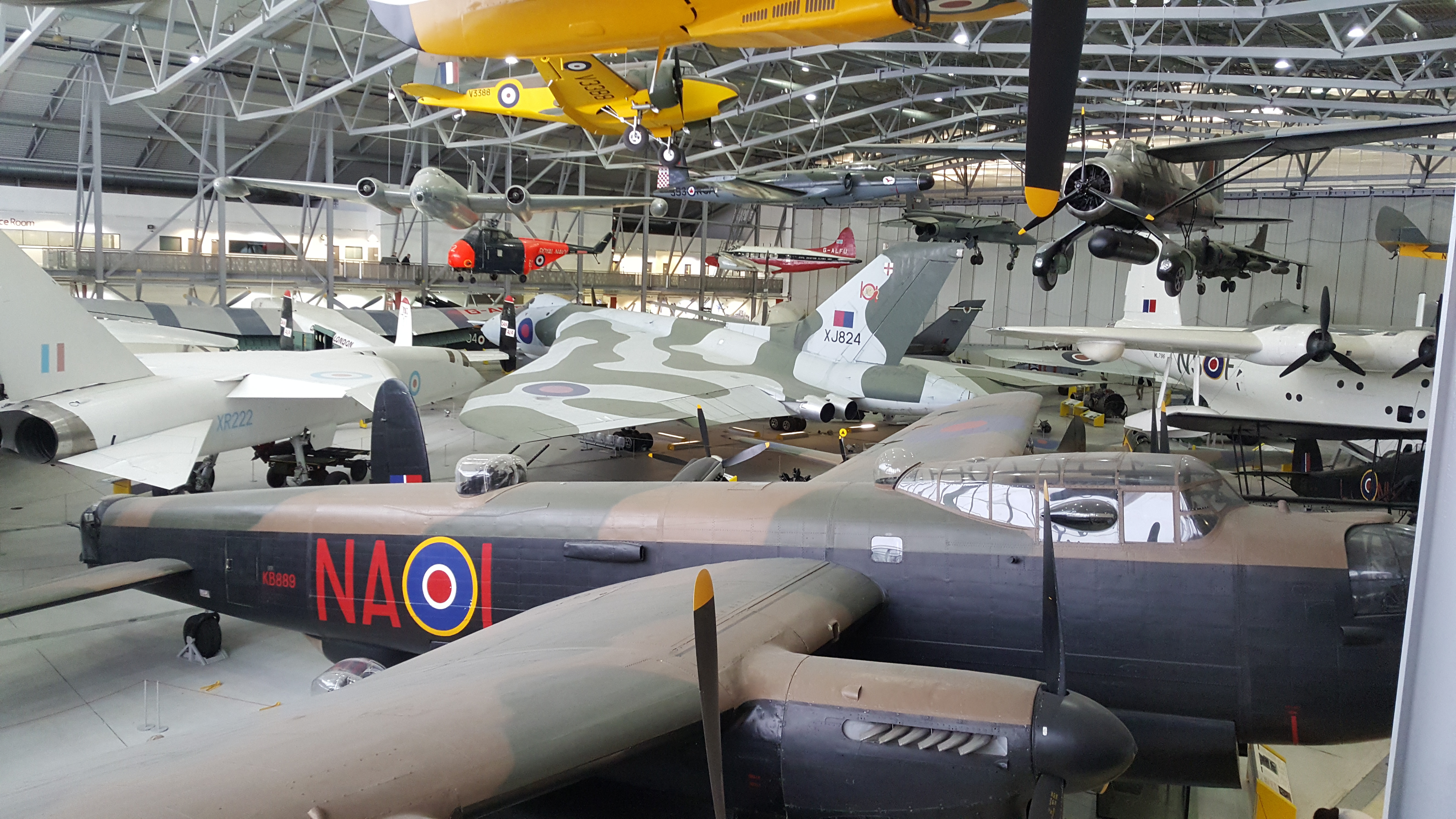 The aircraft of the Imperial War Museum Duxford | anapophist