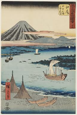 Hiroshige's Japan: 53 Stations of the Tokaido Road © The Ashmolean Museum Oxford, Wolverhampton Art Gallery