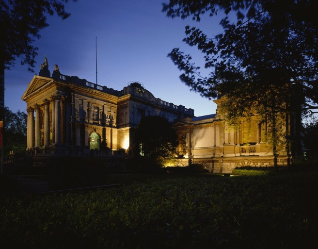 tate britain, gallery, housewarming party